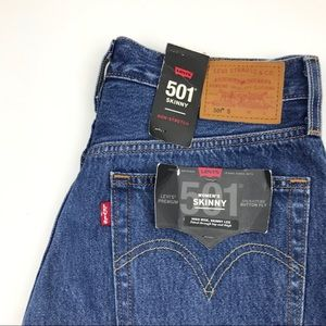 Levi's Jeans - NWT Levi's 501 High Waist wedgie fit Jeans Sz 27